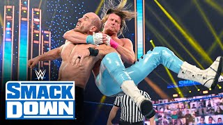 Cesaro vs. Dolph Ziggler: SmackDown, Jan. 22, 2021