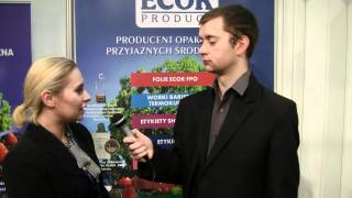 Firma Ecor Product na targach Packaging Innovations 2012