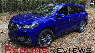 2019 Acura MDX A-Spec – Is The 3-Row Luxury SUV King Dead?