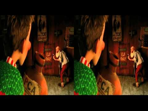 Arthur Christmas Teaser in 3d