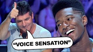 Willie Jones STUNS Simon Cowell In Pitch Perfect Performance!