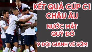 Kết quả Cúp C1 châu Âu | MU 1-3 PSG, Chelsea thắng đậm - Xác định 9 đội giành vé sớm