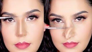 NUEVAS TÉCNICAS DE BELLEZA ASIÁTICA 2018  NARIZ FALSA   / Alin Pescina Makeup