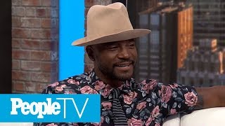 Taye Diggs Says His Set It Up Costar Lucy Liu Was His 'Hall Pass' With Wife Idina Menzel | PeopleTV