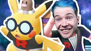 I JOINED TEAM ROCKET!! | Pokemon Let's Go Pikachu #4