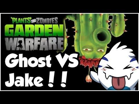 Plants vs. Zombies Garden Warfare Walkthrough - GHOST VS JAKE!! (1080p HD)