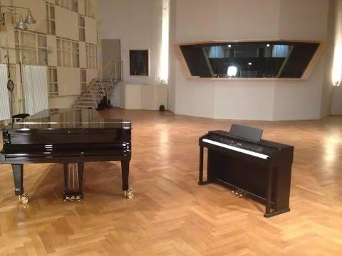 CASIO DIGITAL PIANO VS ACOUSTIC GRAND PIANO --- Celviano