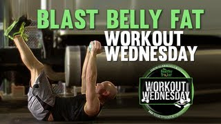 Blast Belly Fat with V-Ups - Easy Truck Driver Exercise