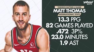 What Matt Thomas and Terence Davis bring to Raptors