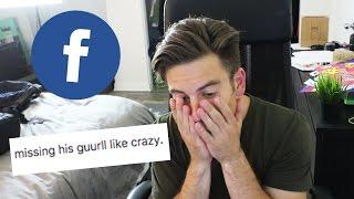 Reading old Facebook posts (CRINGE WARNING)