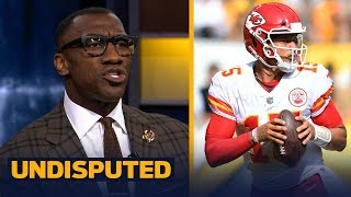 Shannon Sharpe on Mahomes' recent success: 'This kid is in the perfect situation' | NFL | UNDISPUTED