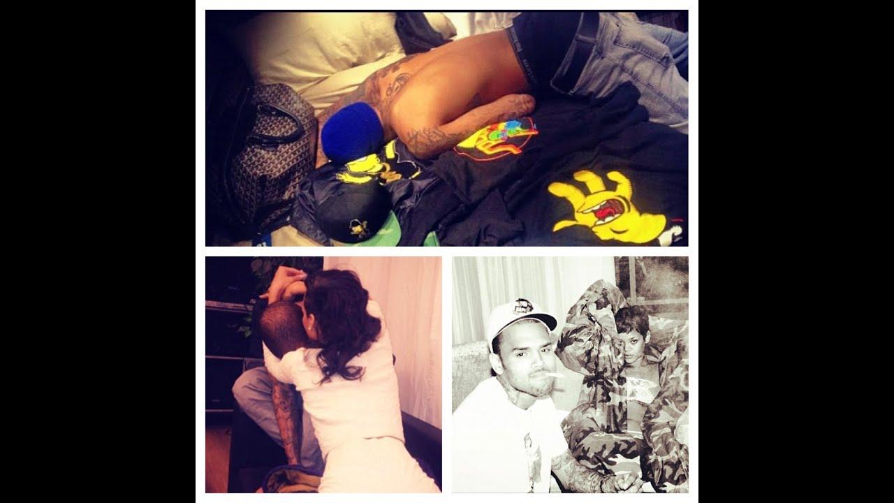 Rihanna & Chris Brown Instagram Fuckery - YouTube