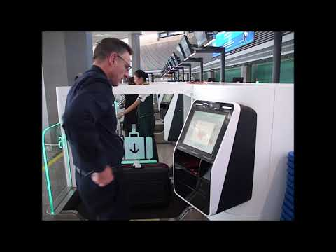 Resource: Shanghai Hongqiao International Airport, Auto Bag Drop Series 7