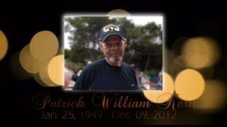 Patrick William Kern - DVD Memorial Slideshow