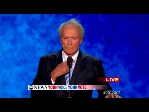 Clint Eastwood RNC Speech (COMPLETE): Actor Assails Obama ...