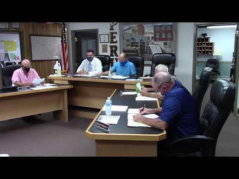 Peru Town Board Meeting  8-24-20
