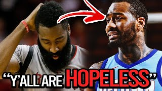 JAMES HARDEN is SABOTAGING The HOUSTON ROCKETS on PURPOSE ft(John Wall, Kyrie Irving, Trade)