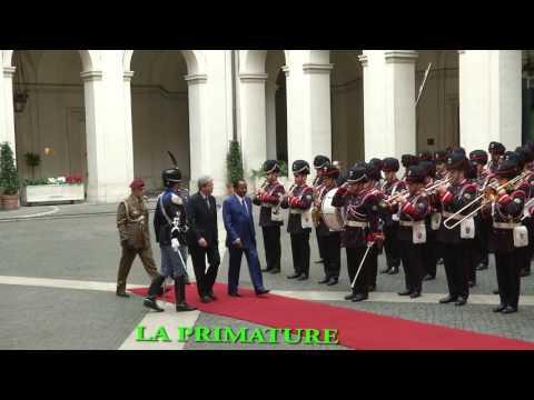 Les étapes de la Visite d'Etat de S.E. Paul BIYA en Italie