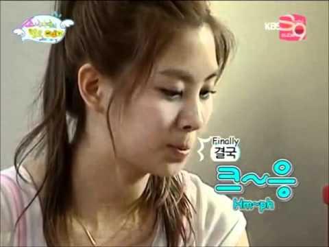 소녀시대 SNSD gets angry (Part 1)