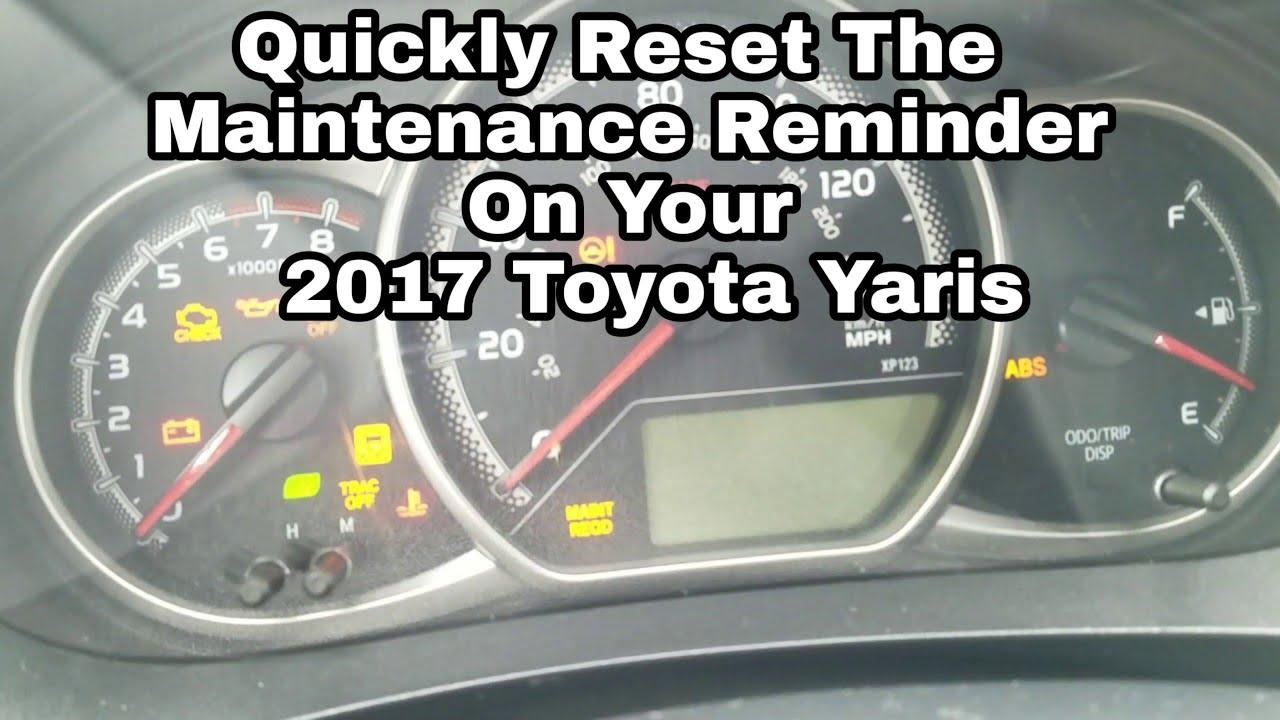 2017 Toyota Yaris Ia Dash Lights - blog blog 16