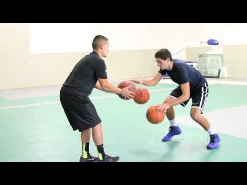 Team Elite Basketball - Dribbling Two Balls Drill