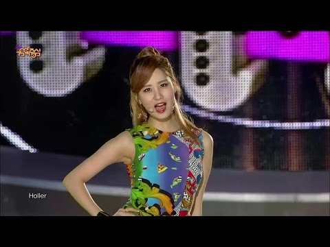 【TVPP】SNSD-TTS - Holler, 소녀시대-태티서 - 할라 @ Show Music core Live