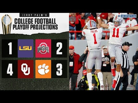 College Football Playoff Projections: LSU, Ohio State, Oklahoma, and Clemson  | CBS Sports HQ
