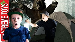 Camping Fails! Sneak Attack Squad Family Goes to the Great Outdoors!
