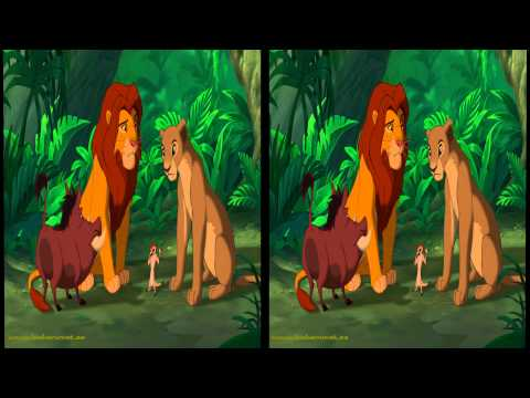 The Lion King 3D 5min Sample