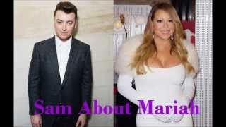 Sam Smith about Mariah Carey