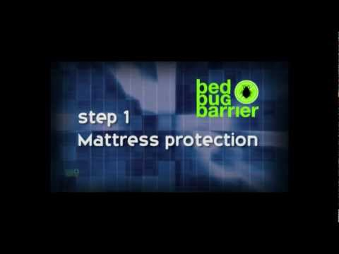 Bed Bug Barrier Instructional Video. DIY bed bug treatment. Save money & time!