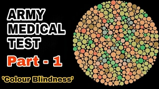 Army Medical Test - Eye Test l Color Blindness Test l Ishihara Test l आर्मी मेडिकल टेस्ट
