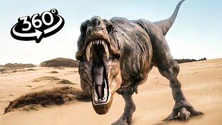 360 Video | JURASSIC WORLD Evolution VR Dinosaurs 4K Part 1