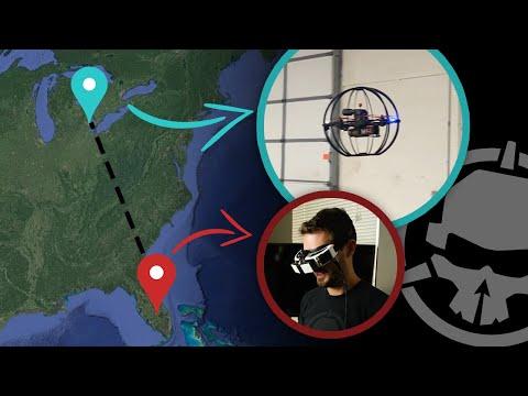 Pilot flies drone over 1,000 miles away.