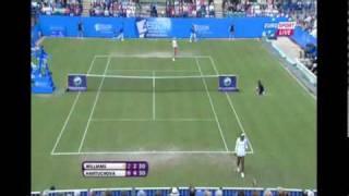 Daniela Hantuchova vs Venus Williams Eastbourne 2011 Highlight