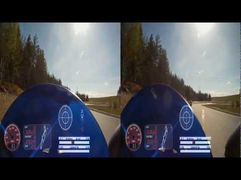Arlanda Test Track ATT - 3D - Dashware gauges - SMC BKK 2012-05-13