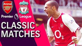 Arsenal v. Liverpool   PREMIER LEAGUE CLASSIC MATCH   04/09/2004   NBC Sports