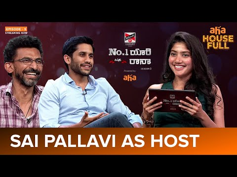 Sai Pallavi turns host for No. 1 Yaari, shoots questions to Naga Chaitanya, Rana Daggubati