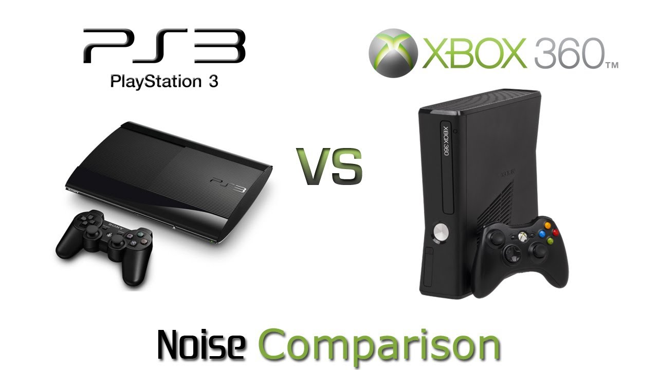 A comparison of ps3 and xbox 360