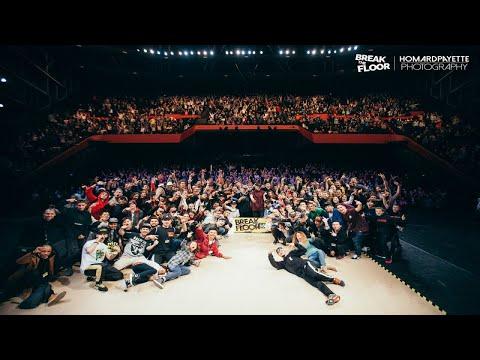 Break The Floor 2018 | Final battle Jinjo crew VS Body Carnival