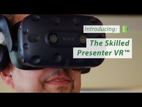 VIDEO: Introducing The Skilled Presenter VR(TM). The industry-leading presentation skills course is now available with the world's fastest-growing training technology. We're pleased to offer this technology to give learners a decisive edge as they become better presenters.