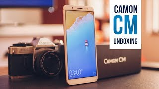 TECNO Camon CM: Unboxing, Quick Review & Giveaway!