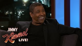 Denzel Washington Doesn't Use Apps