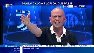 Juve Inter 3-2 con Filippo Tramontana