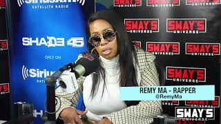 Remy Ma In-Studio Sessions With Lil Kim + The Future With Nicki Minaj & Talks Switching Managers