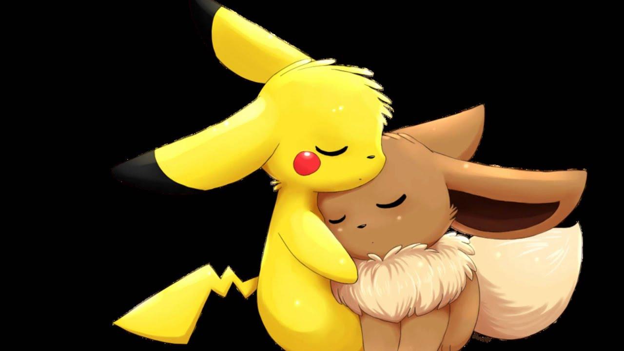 Pikachu x Eevee - Kiss You - YouTube  Pikachu x Eevee...