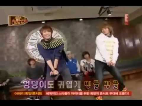 SHINee's Key dances to Mister,  Bo Peep Bo Peep, Because of You, Chu,  & Genie @ Maknae Rebellion