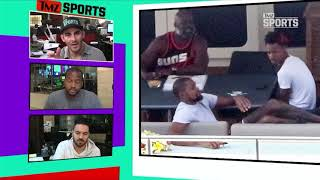 Kevin Durant Fights Through Injury for Awesome Yacht Vacation | TMZ Sports