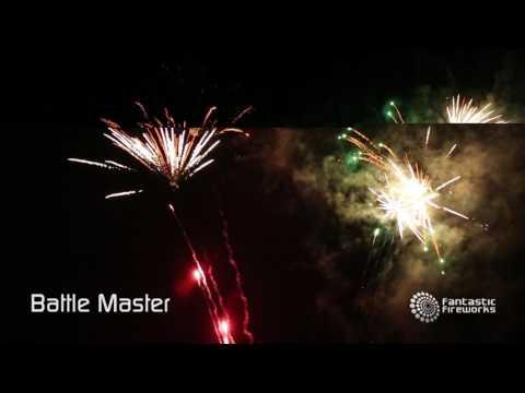 Bright Star Elite Collection Battle Master Compound - 302 shot firework