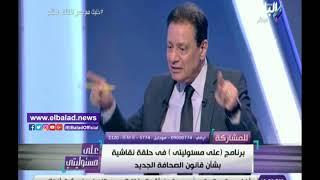 جبر: نقابة الصحفيين لم تعدل قانونها منذ 50 سنة بحجة ظروف السياسة ...
